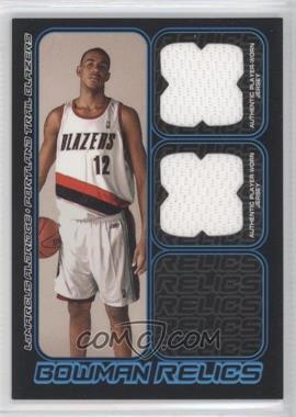 2006-07 Bowman Draft Picks & Stars - Bowman Relics - Dual #BDR-LA - LaMarcus Aldridge /249