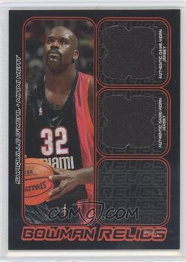 2006-07 Bowman Draft Picks & Stars - Bowman Relics - Dual #BDR-SO - Shaquille O'Neal /249