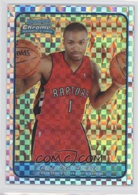 2006-07 Bowman Draft Picks & Stars - Chrome - X-Fractor #144 - P.J. Tucker /150