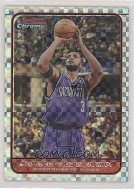2006-07 Bowman Draft Picks & Stars - Chrome - X-Fractor #45 - Shareef Abdur-Rahim /150