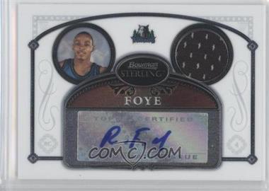 2006-07 Bowman Sterling - [Base] #98 - Randy Foye