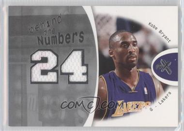 2006-07 Fleer EX - Behind The Numbers #BN-KB - Kobe Bryant /199