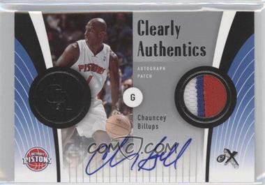 2006-07 Fleer EX - Clearly Authentics - Autograph Patch [Autographed] #CA-BI - Chauncey Billups /25