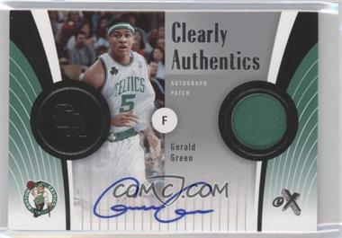 2006-07 Fleer EX - Clearly Authentics - Autograph Patch [Autographed] #CA-GG - Gerald Green /25