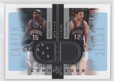2006-07 Fleer EX - Connextions #CN-CK - Vince Carter, Nenad Krstic /199