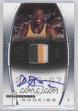 2006-07 Fleer Hot Prospects - [Base] #71 - Denham Brown /250