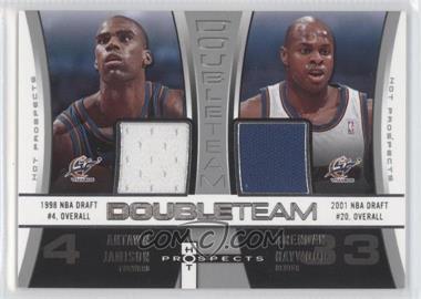 2006-07 Fleer Hot Prospects - DoubleTeam #DT-JH - Antawn Jamison, Brendan Haywood /50