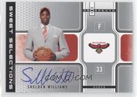 Shelden Williams #/50