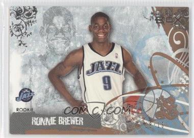 2006-07 Luxury Box - [Base] - Bronze #93 - Ronnie Brewer /19