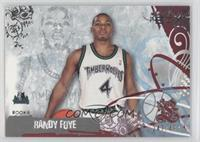 Randy Foye #/499