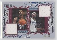 Kevin Garnett, Mike James /49