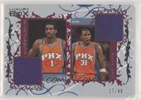 Amare Stoudemire, Shawn Marion #/49