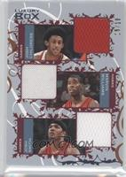 Josh Childress, Marvin Williams, Josh Smith /19