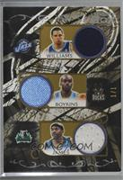 Deron Williams, Earl Boykins, Mike James, Luke Ridnour, Jarrett Jack /1