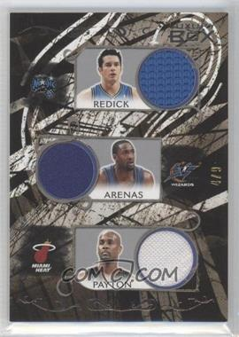 2006-07 Luxury Box - Relics Five - Silver #LB5R-3 - J.J. Redick, Gilbert Arenas, Gary Payton, Joe Johnson, Raymond Felton /9
