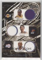 Kobe Bryant, Steve Nash, Sam Cassell, Baron Davis, Mike Bibby #/179