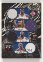 Rasheed Wallace, Michael Redd, Shaquille O'Neal, Ben Gordon [EX to NM…