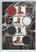 Chris Bosh, Stephon Marbury, Emeka Okafor, Martell Webster /199