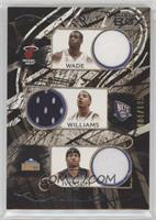 Dwyane Wade, Deron Williams, Allen Iverson, Samuel Dalembert, Carmelo Anthony, …