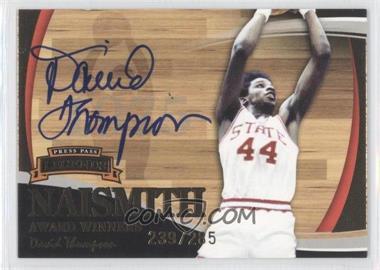 2006-07 Press Pass Legends - [???] - Autographs [Autographed] #N/A - David Thompson /285