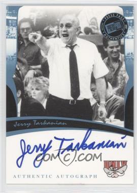 2006-07 Press Pass Legends - Autographs - [Autographed] #JETA - Jerry Tarkanian