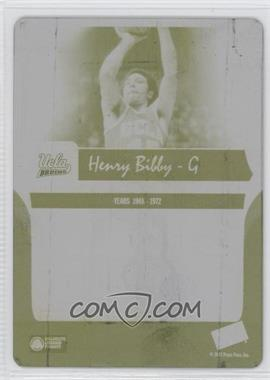 2006-07 Press Pass Legends - [Base] - Printing Plate Yellow Back #60 - Henry Bibby /1