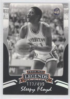 2006-07 Press Pass Legends - [Base] - Silver #S25 - Sleepy Floyd /499