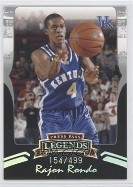 2006-07 Press Pass Legends - [Base] - Silver #S5 - Rajon Rondo /499
