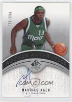 Maurice Ager #/999
