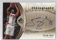 Sean May #/25
