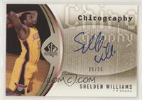 Shelden Williams #/25