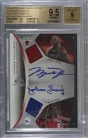 Michael Jordan, Julius Erving /15 [BGS 9.5 GEM MINT]