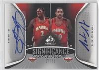 Joe Johnson, Salim Stoudamire /50