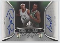 Paul Pierce, Al Jefferson /50