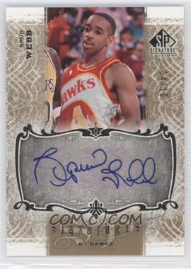2006-07 SP Signature Edition - Signatures - Gold [Autographed] #SPS-WE - Spud Webb /10