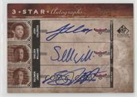 Josh Childress, Shelden Williams, Solomon Jones /25