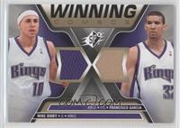 Mike Bibby, Francisco Garcia