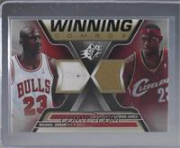 Michael Jordan, Lebron James [Near Mint‑Mint+]