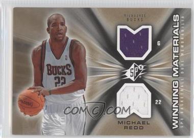 2006-07 SPx - Winning Materials #WM-MR - Michael Redd