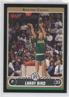 Larry Bird (Green Warmup Shooting in 3-Point Contest) /99