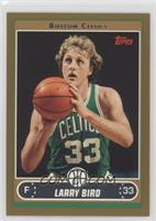 Larry Bird (Green Jersey Shooting Free Throw with Ball under Chin) /500