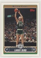 Larry Bird (Base, Green Jersey Shooting with Crowd)
