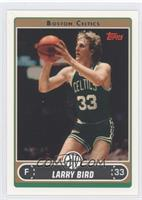 Larry Bird (Green Jersey Shooting Jumper with Ball by Face)