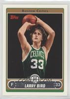 Larry Bird (Green Jersey Shooting with Ball by Hair)