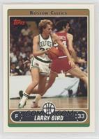Larry Bird (White Jersey Dribbling)