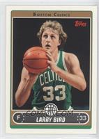 Larry Bird (Green Jersey Shooting Free Throw with Ball under Chin)