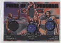 Nate Robinson, Channing Frye, Earl Monroe #/99