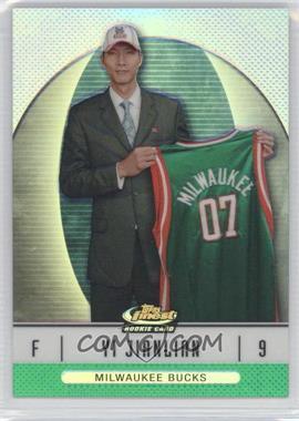 2006-07 Topps Finest - [Base] - Green Refractor #106 - Yi Jianlian /199