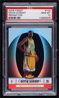 2007-08 Rookie - Kevin Durant [PSA10GEMMT] #/399