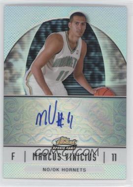 2006-07 Topps Finest - [Base] - Rookie Refractor Autograph [Autographed] #75 - Marcus Vinicius